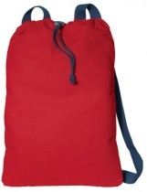 Port Authority Canvas Cinch Pack - B119-chilired-navy - Shirts And Tops B119-CHILIRED-NAVY