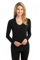 Port Authority Ladies Concept Cardigan - L545-black - Shirts And Tops L545-BLACK