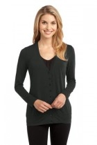 Port Authority Ladies Concept Cardigan - L545-greysmoke - Shirts And Tops L545-GREYSMOKE