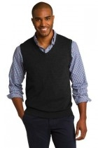 Port Authority Sweater Vest - Sw286-black - Shirts And Tops SW286-BLACK