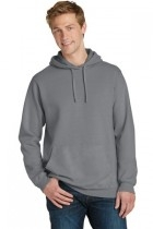 Learning: Play Art Drawing Supplies Paint Specialty Pigments - Pc098h-coal - Port & Company Pigment-dyed Pullover Hooded Sweatshirt PC098H-COAL