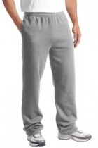 Sport-tek Open Bottom Sweatpant - St257-athleticheathe - Clothing Shirts And Tops Sport-tek ST257-ATHLETICHEATHE