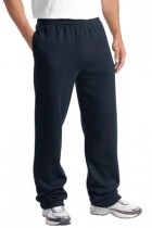 Sport-tek Open Bottom Sweatpant - St257-truenavy - Clothing Shirts And Tops Sport-tek ST257-TRUENAVY