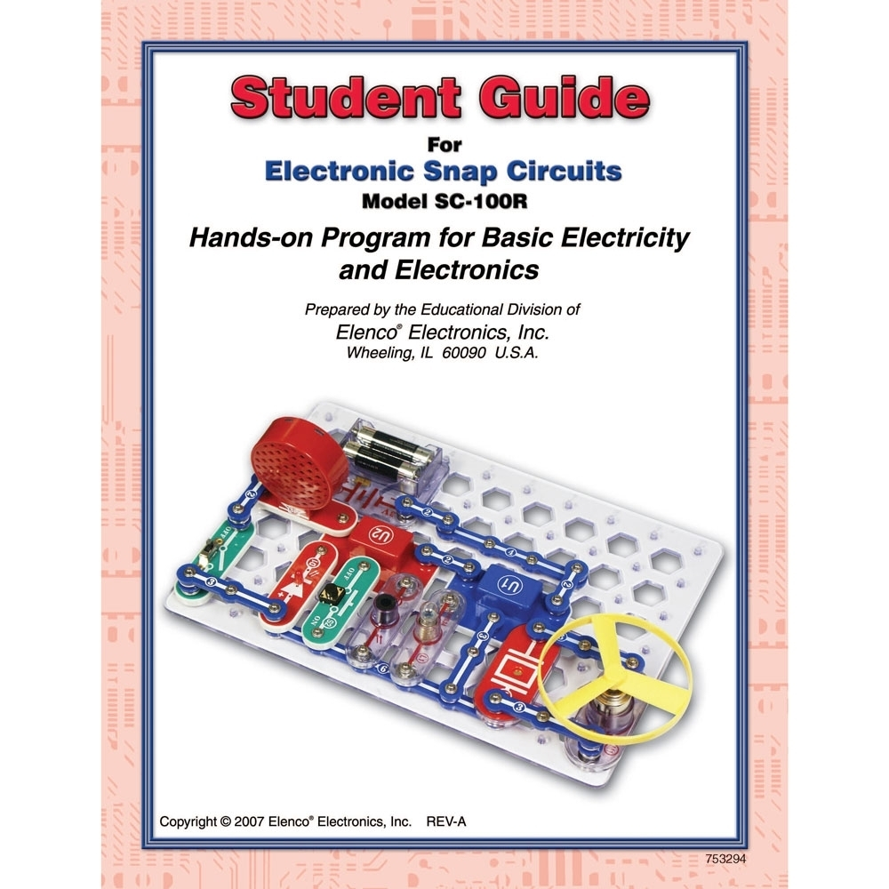 Snap Circuits Student Guide For Sc100 Sc100r 753294 Facilities Circuit Extreme Instruction Pdf