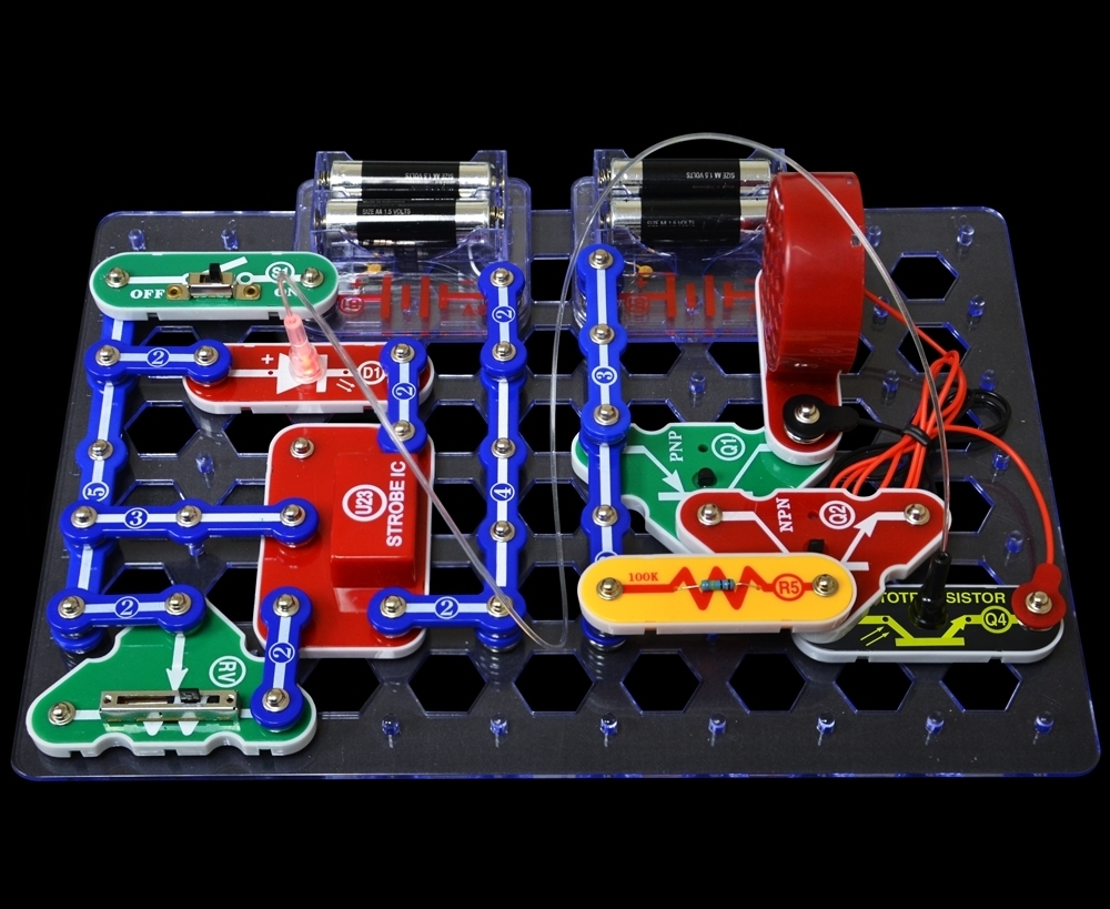 Snap Circuits Deluxe Sound Light Combo - SCC350 - Facilities
