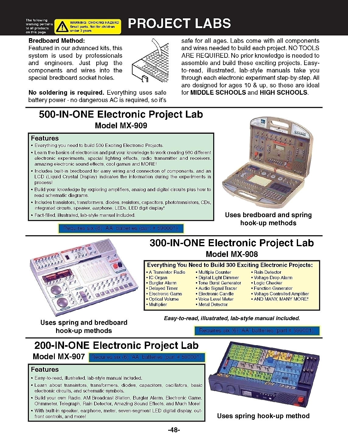 Learning Science Physics Projects Lessons Supplies Applied Sound Effects Generator Circuit 0270catalogpage2may20160008